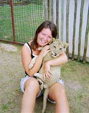 we rare and breed exotic African feline white lion cubs and tiger cubs