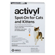 Activyl spot on treatment for cats to control flea infestations at che